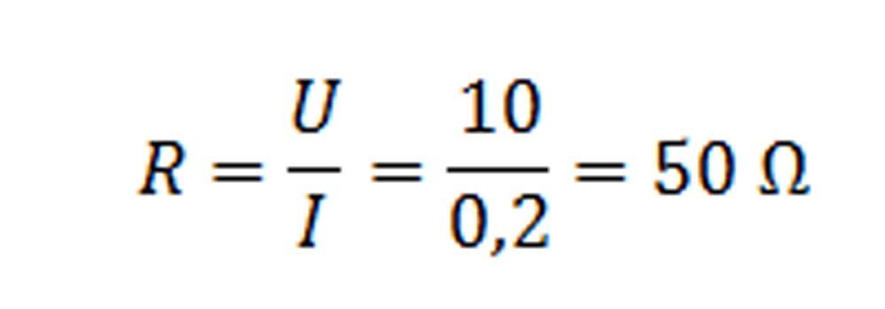 Weerstand berekenen formule